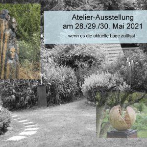 Atelier-Ausstellungsankündigung 2021